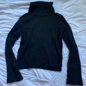 Madewell Black Turtleneck Long Sleeve Sweater